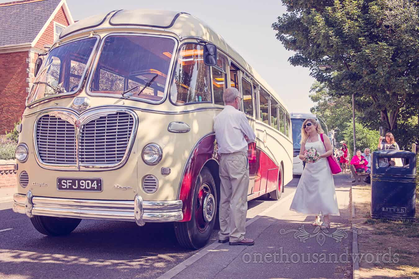 Vintage Style Wedding in Swanage, Dorset with Jenny & Sean