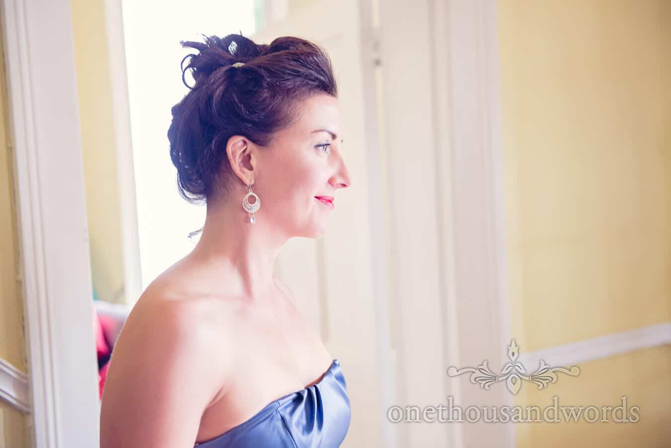 Bridesmaid portrait from Countryside Wedding Morning Photographs