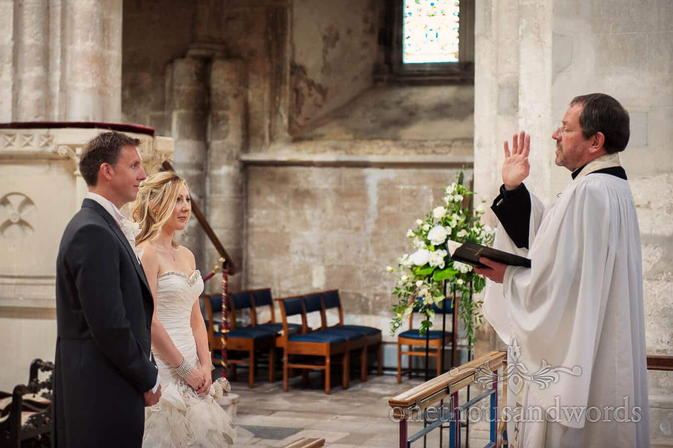 Christchurch Priory wedding ceremony blessings