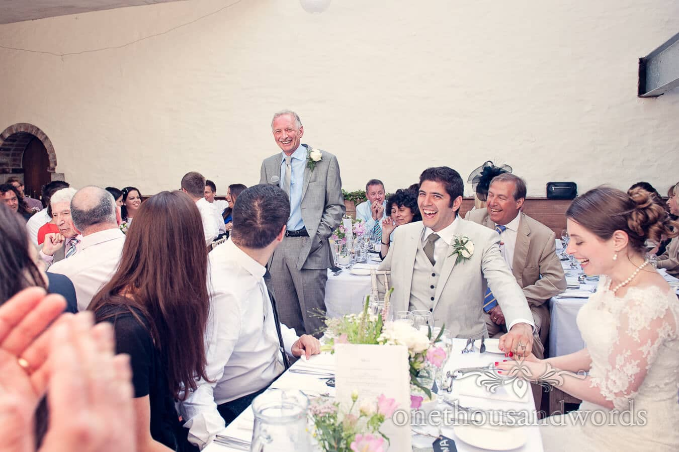 Father of the Bride Speech at Prussia Cove Wedding