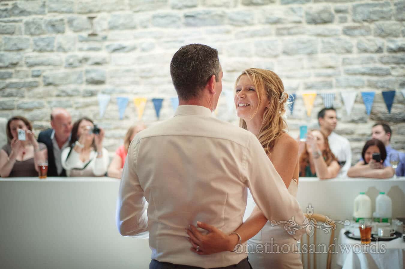 First Dance at Durlston Castle Wedding Photography