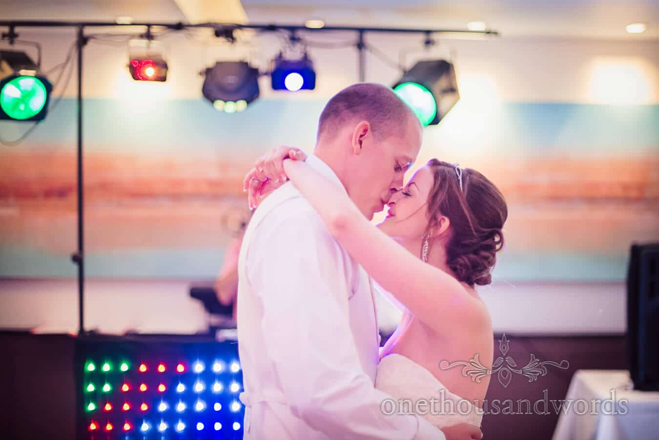 First dance photograph at Poole wedding venue