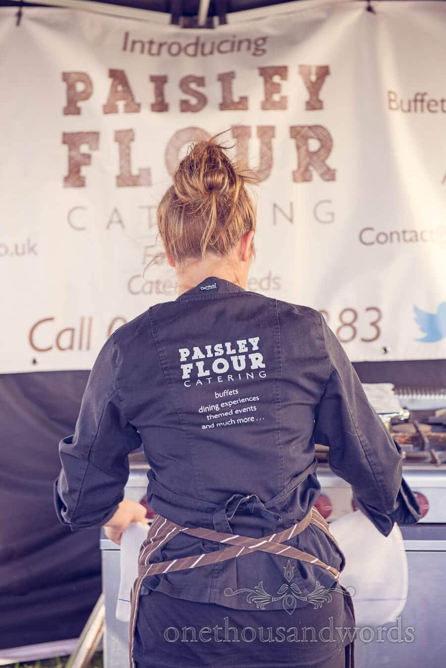 Paisley Flour Wedding Catering at Countryside Wedding