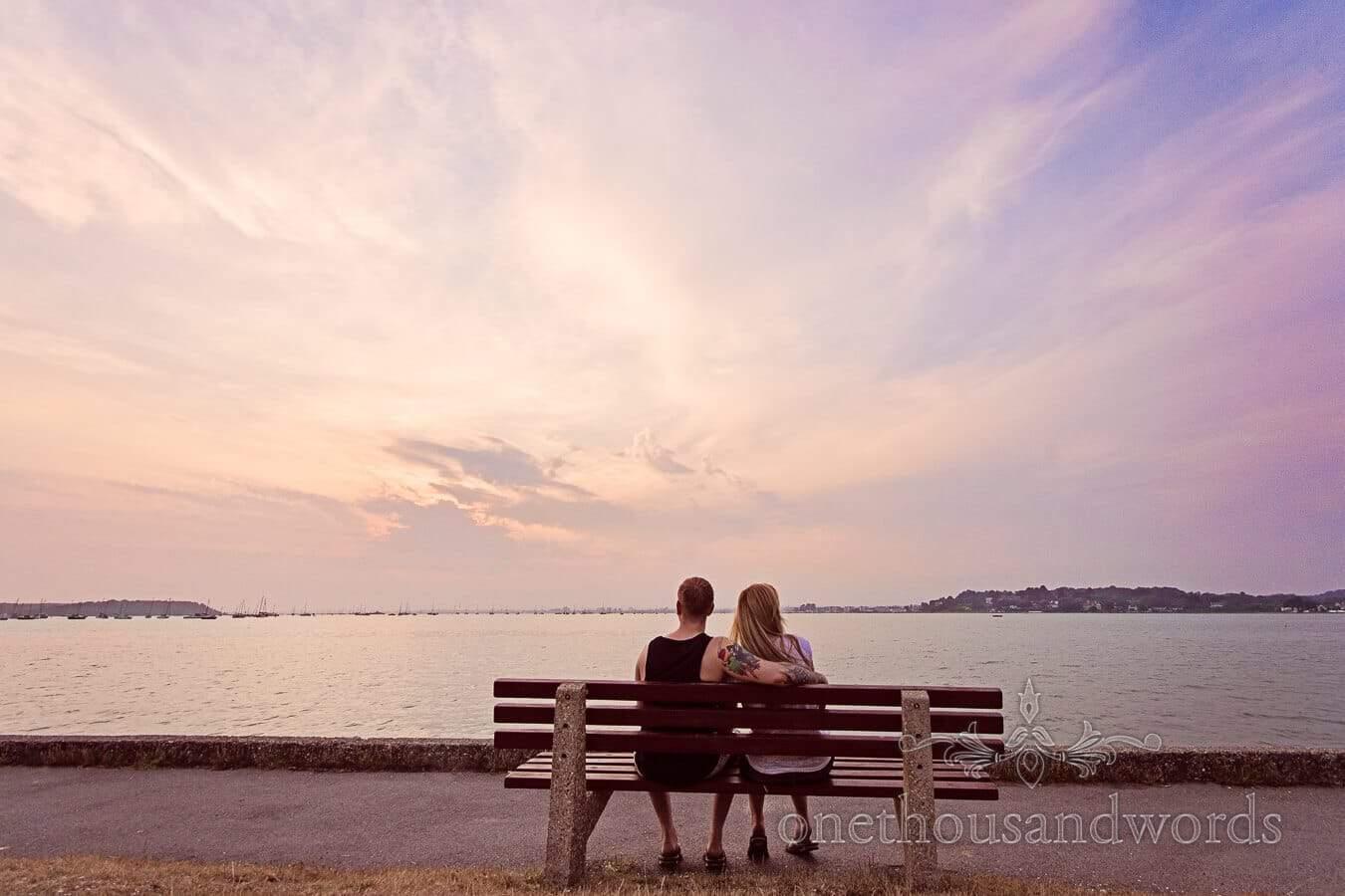 Sandbanks Engagement Photographs with Paul & Bekki