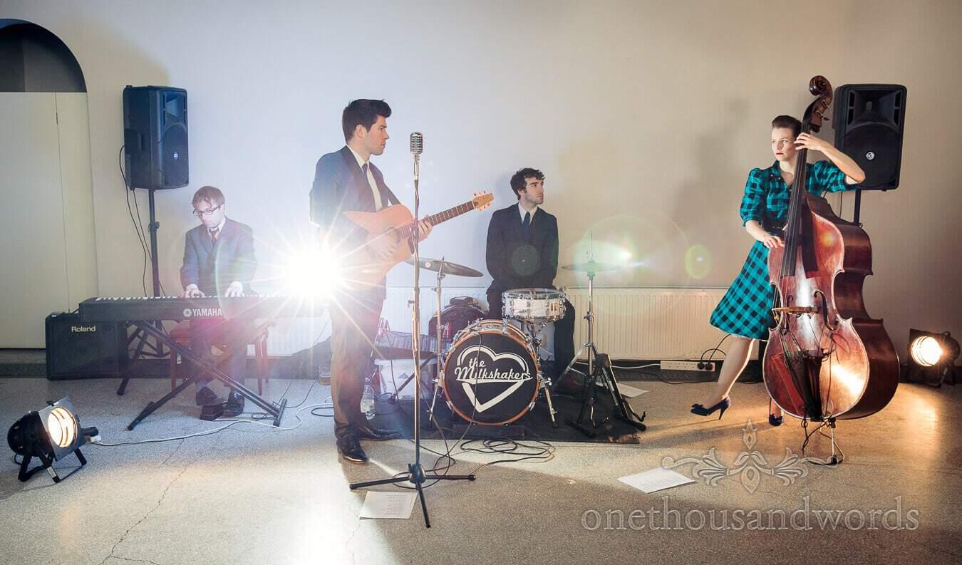The Milkshakers Wedding Band at Hampton Court Wedding Venue