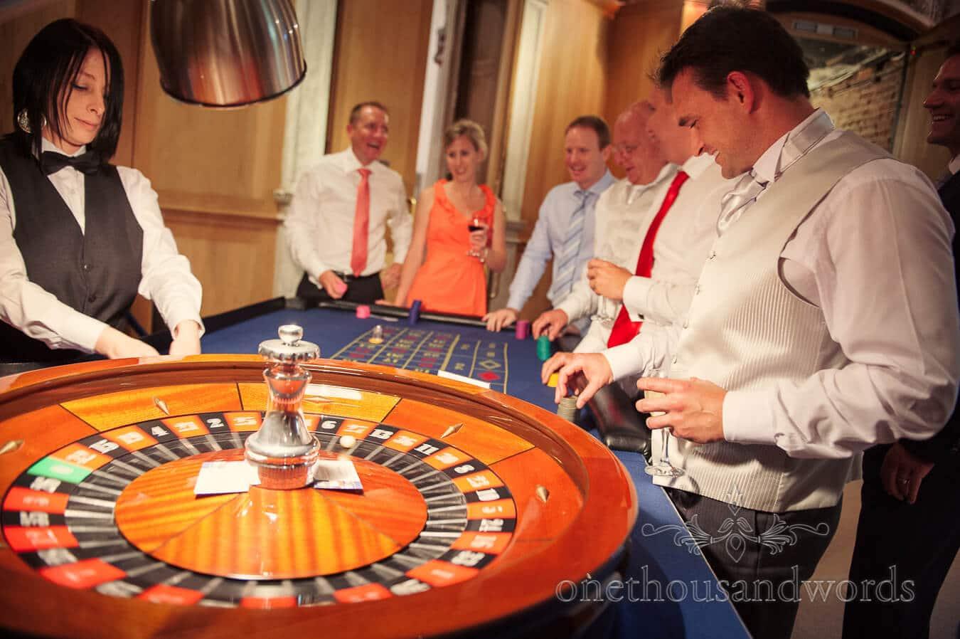 Wedding Casino at Highcliffe Castle Wedding venue