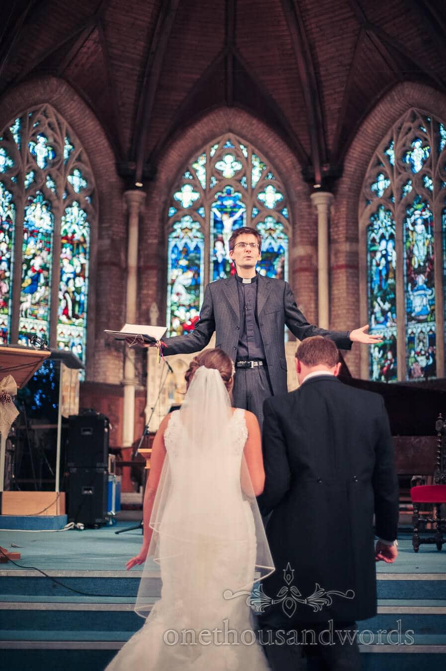Wedding ceremony in Richmond Church London