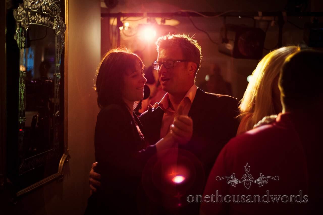 Wedding guests dancing at Lord Bute wedding photographs