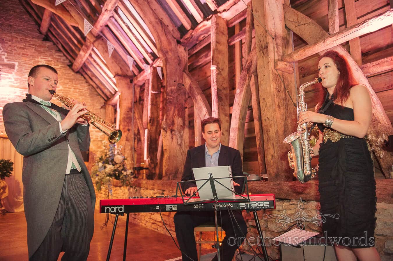 Wedding Musicians at Stockbridge Farm Barn Country Theme Wedding