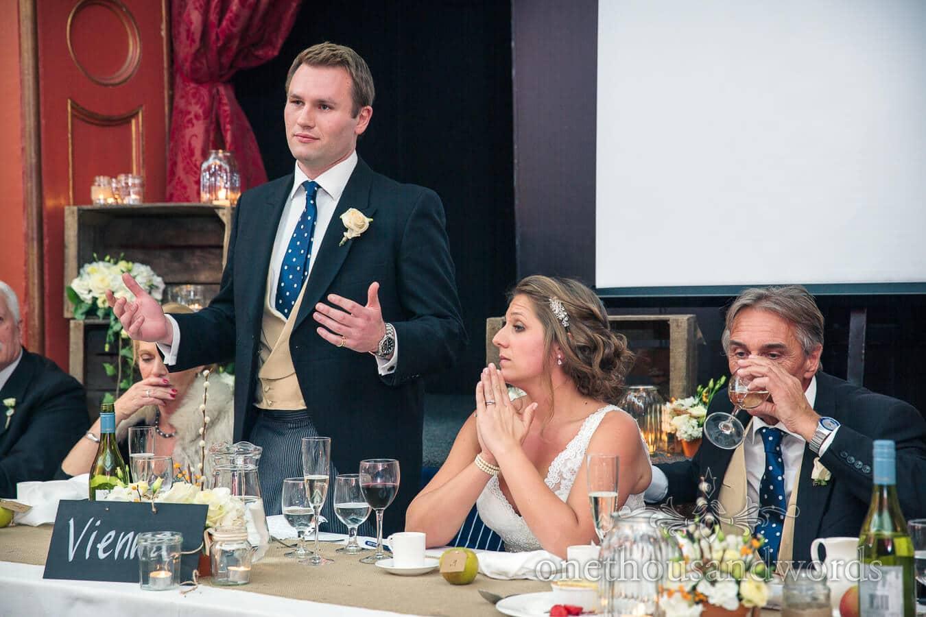 Wedding Speeches at Hampton Court House Wedding