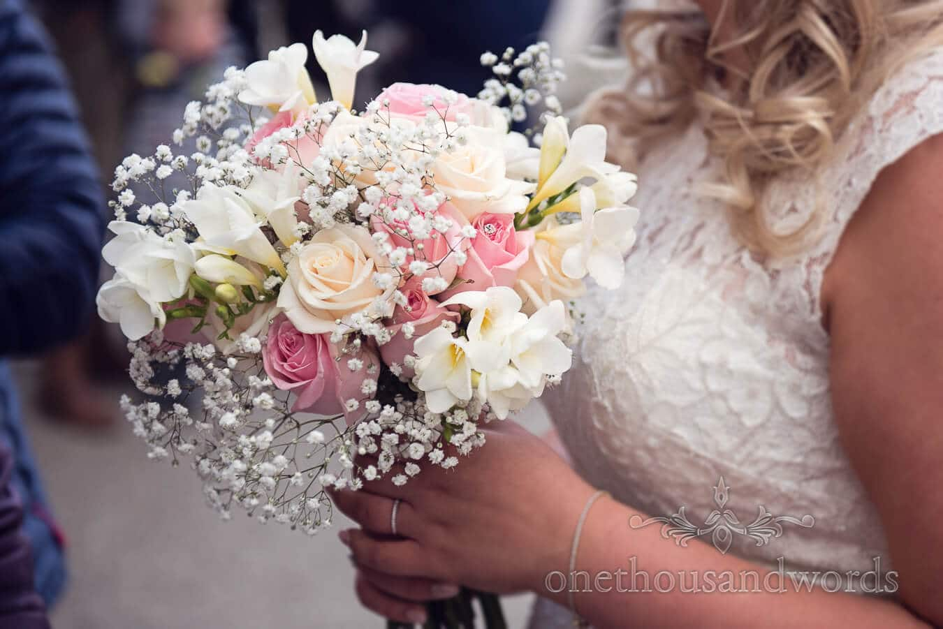 Bridle bouquet from Purbeck Golf Club Wedding