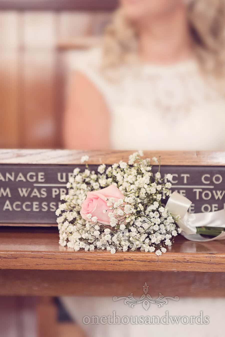 Flowers from Purbeck Golf Club Wedding