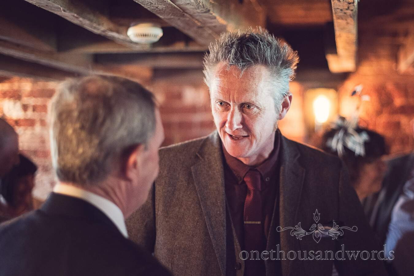 Guest from wedding at Sopley Mill