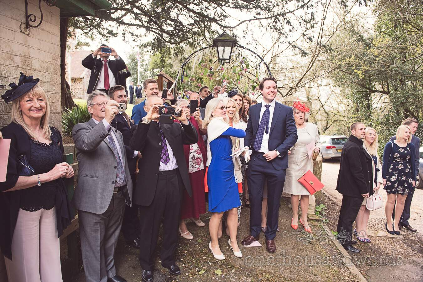 Guest photographers from wedding at Sopley Mill