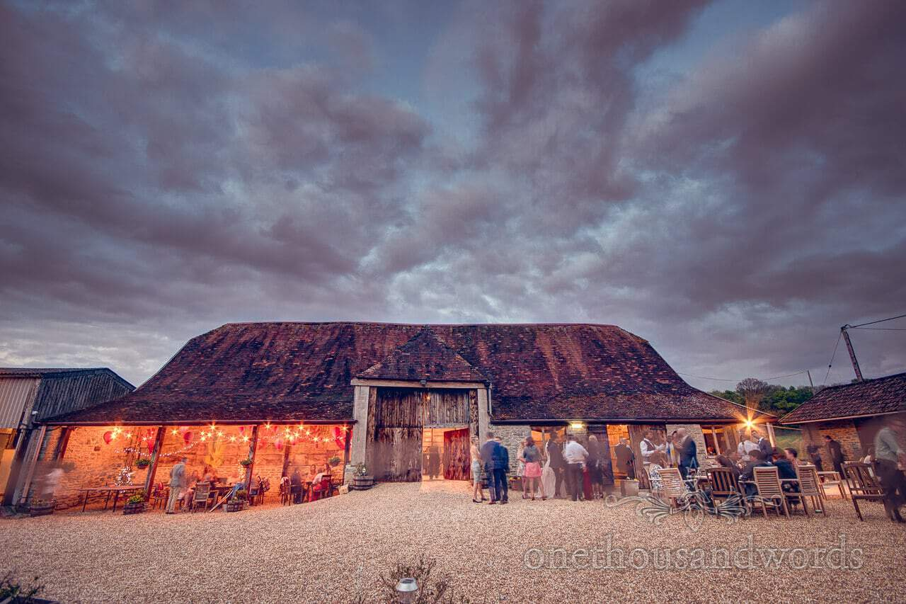 Exterior from Barn Wedding