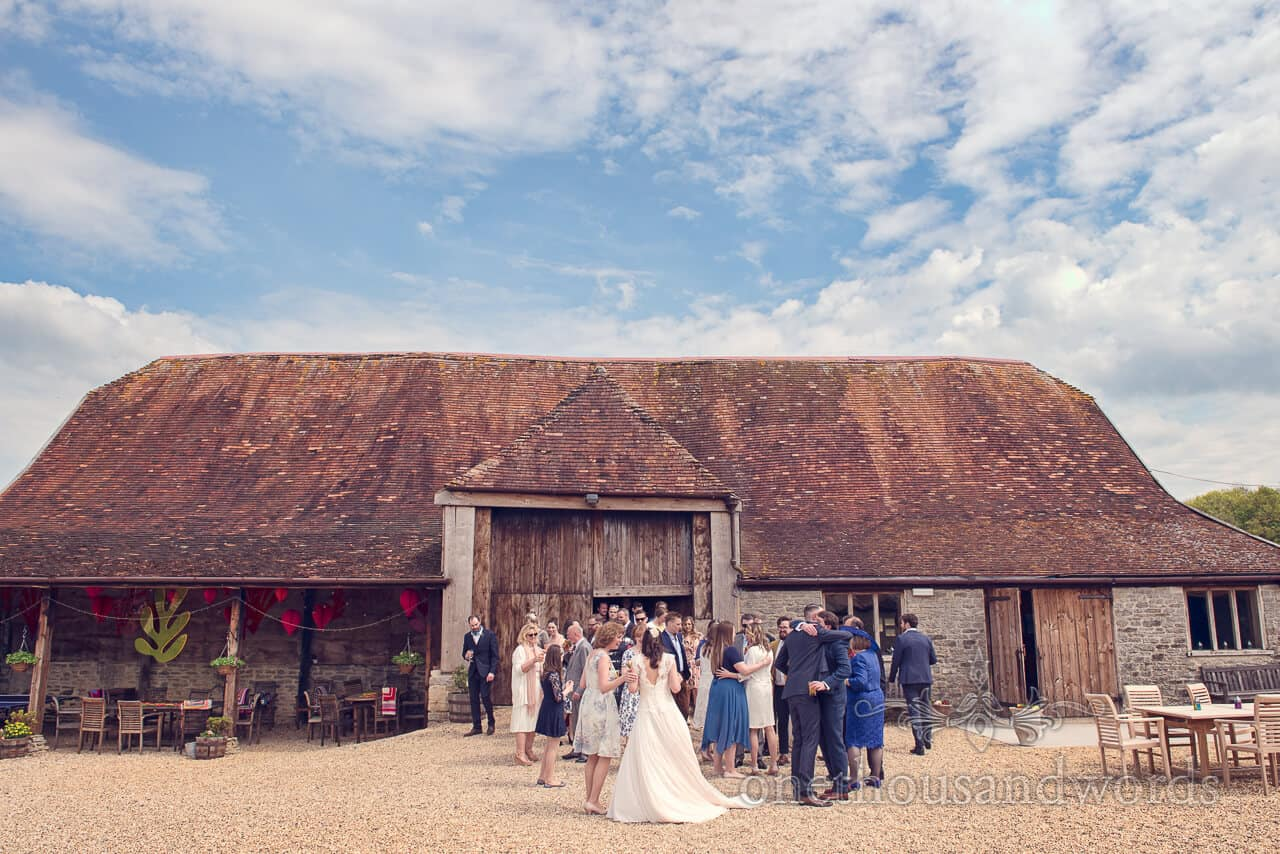 Stockbridge Farm Barn Wedding Venue Review by Dorset Wedding Photographers