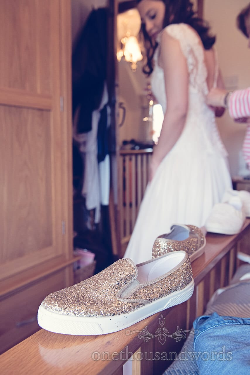 Wedding shoes from Barn Wedding