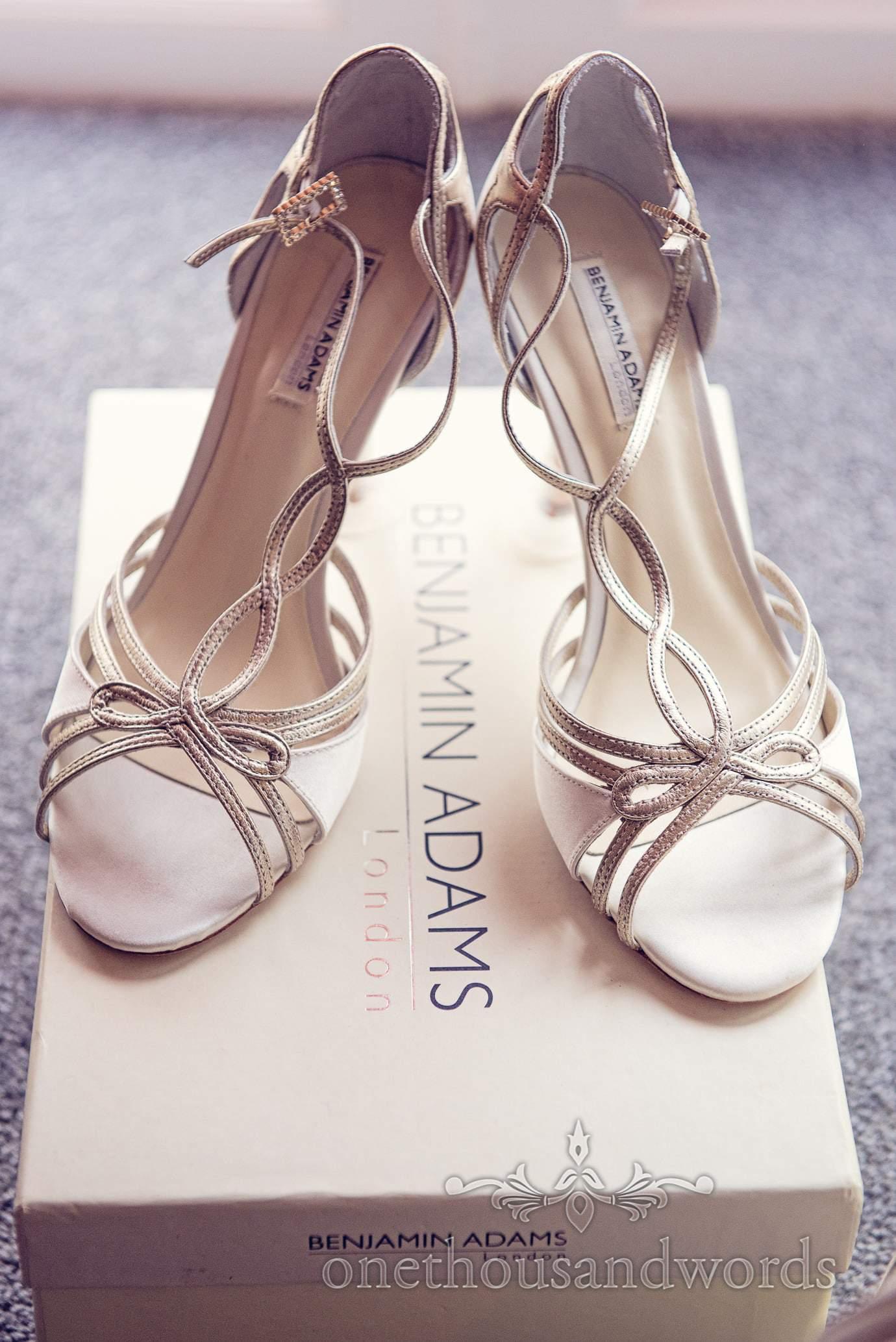 Benjamin Adams wedding shoes - Preston Designer Ivory Vintage