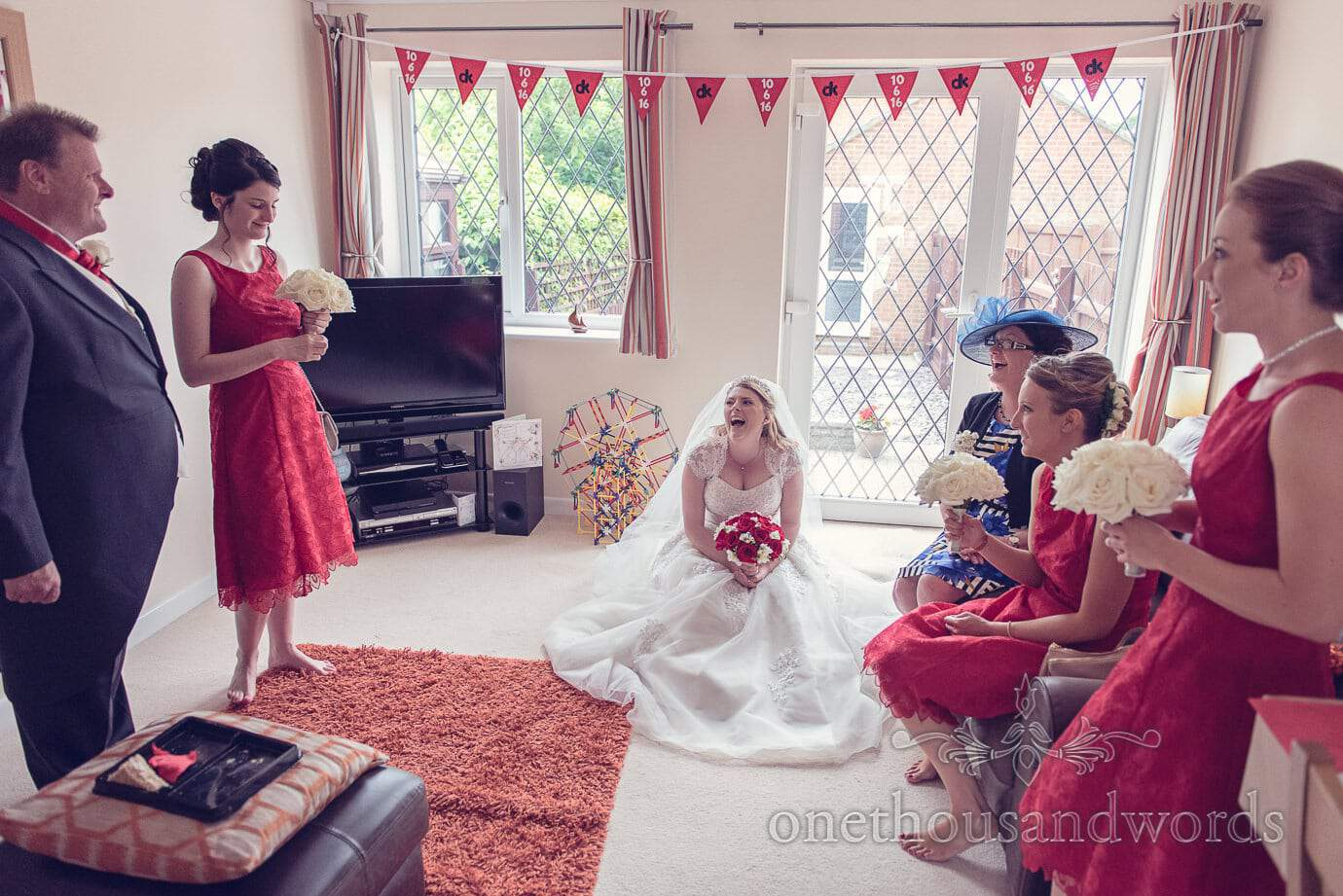 Harbour Heights Wedding Photos of a Red Themed Wedding Day