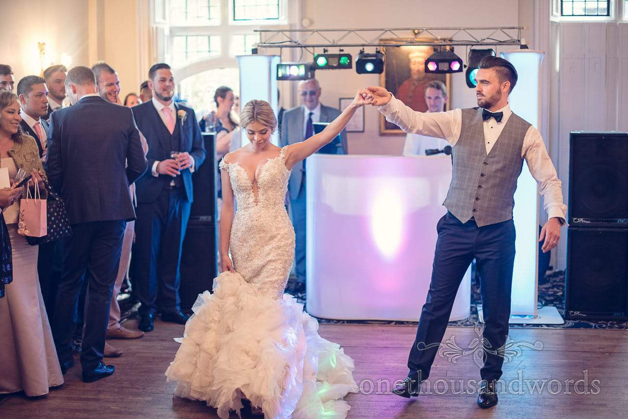 Choreographed First Dance at Rhinefield House Hotel Wedding