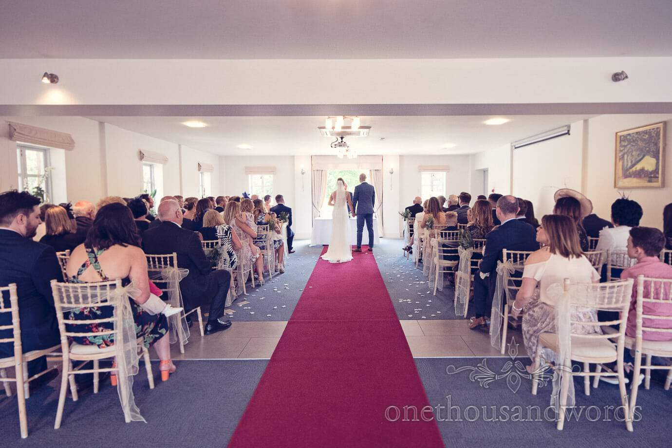 Civil ceremony at Italian Villa Wedding Photographs