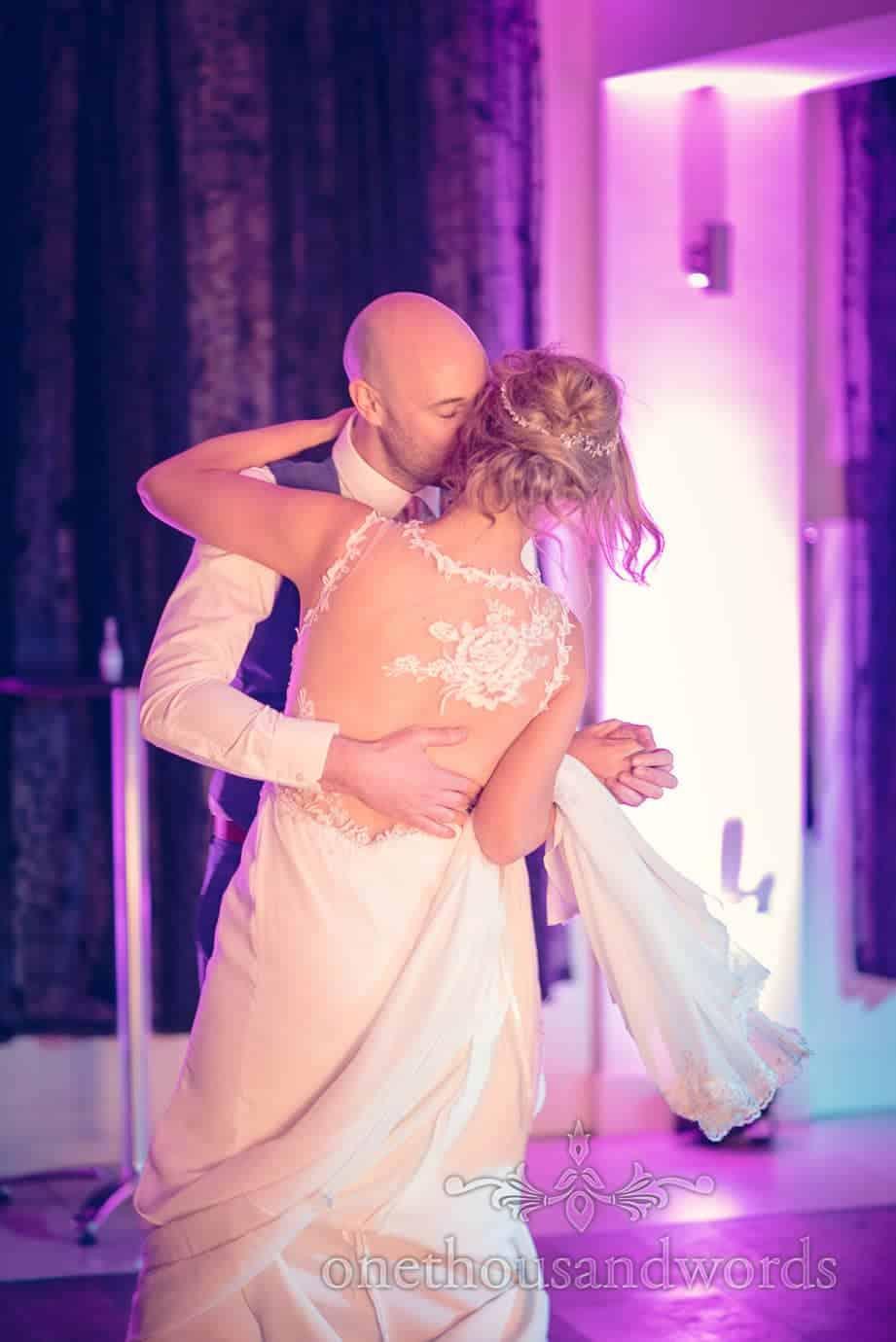 First dance at Italian Villa Wedding Photographs