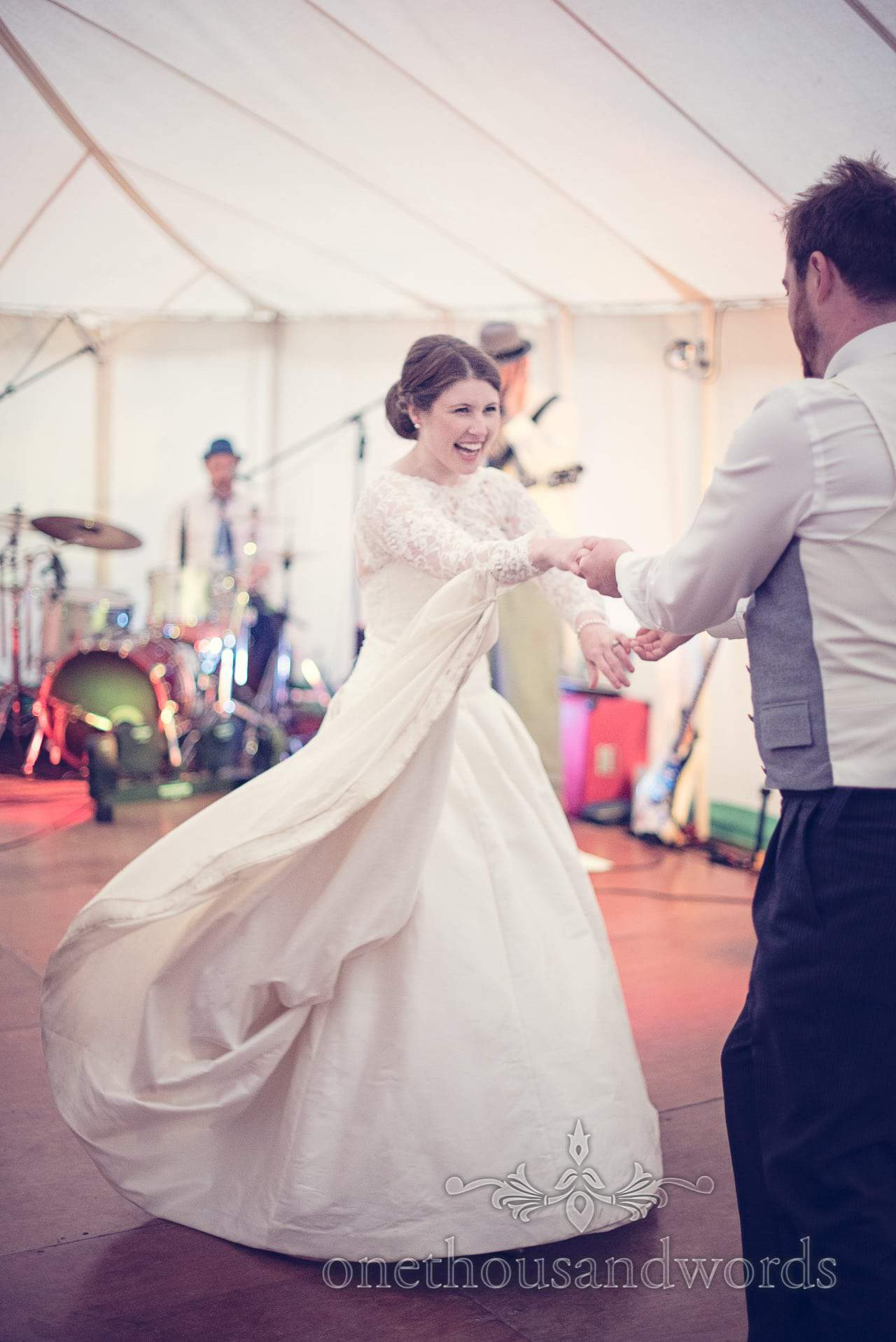 First dance at The Priory Wareham wedding