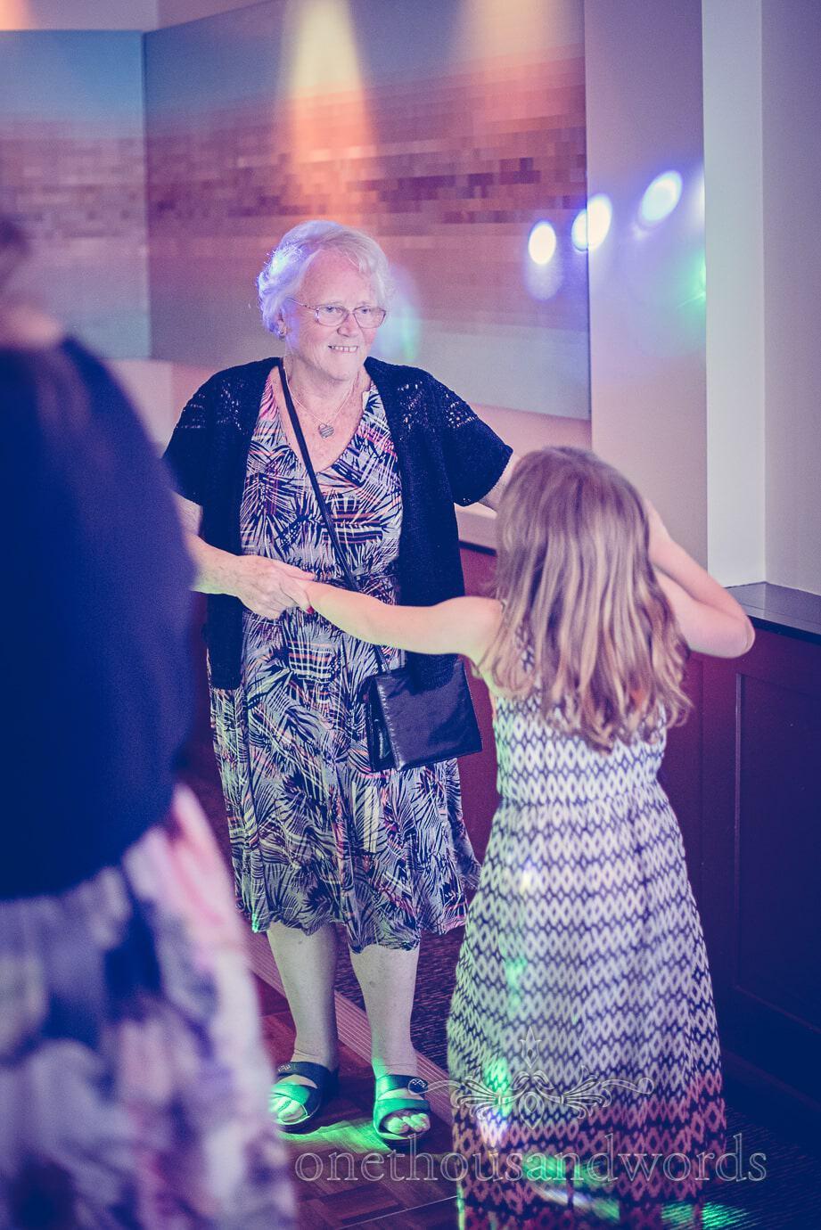 Grandma dancing from Harbour Heights wedding photos