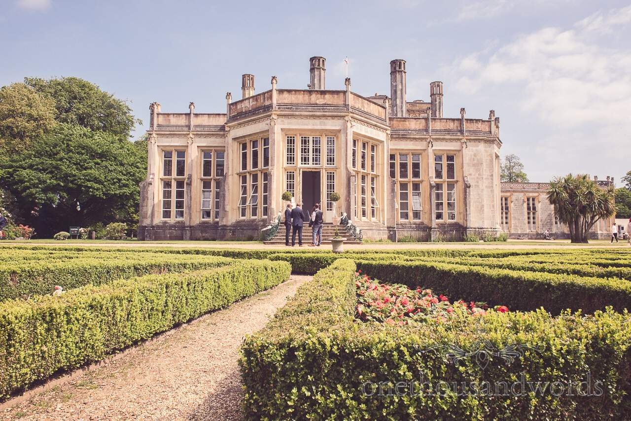 Highcliffe Castle Wedding Venue in Christchurch, Dorset photograph