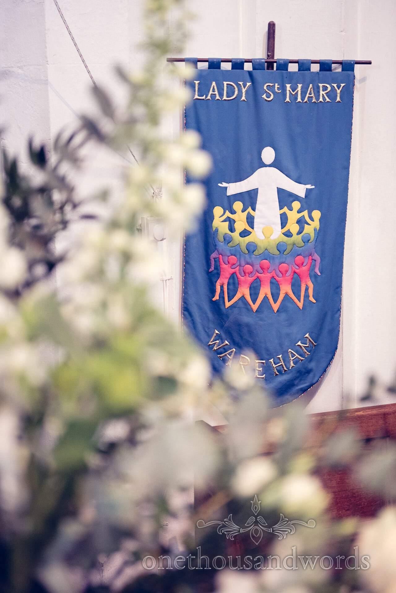 Lady St Mary's Church, Wareham flag