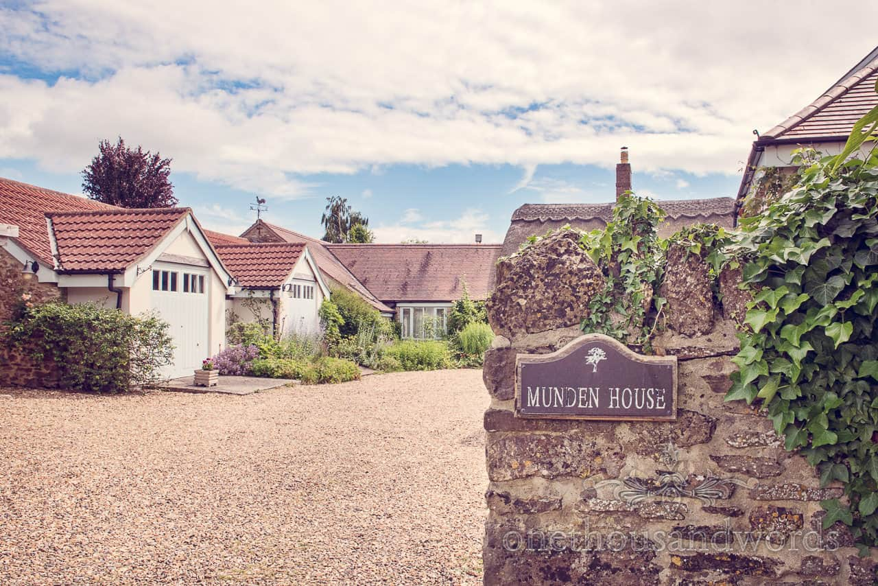 Munden House Bed and Breakfast wedding morning venue photograph