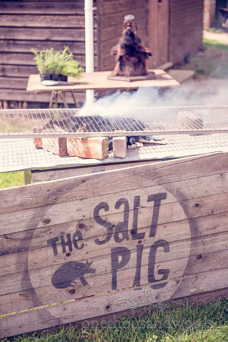 The Salt Pig Wareham Dorset wedding catering barbeque