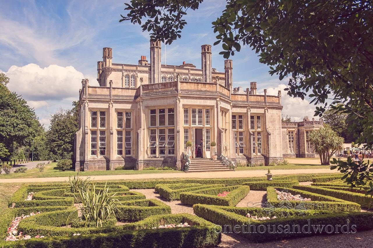 Highcliffe Castle Wedding Venue Photograph
