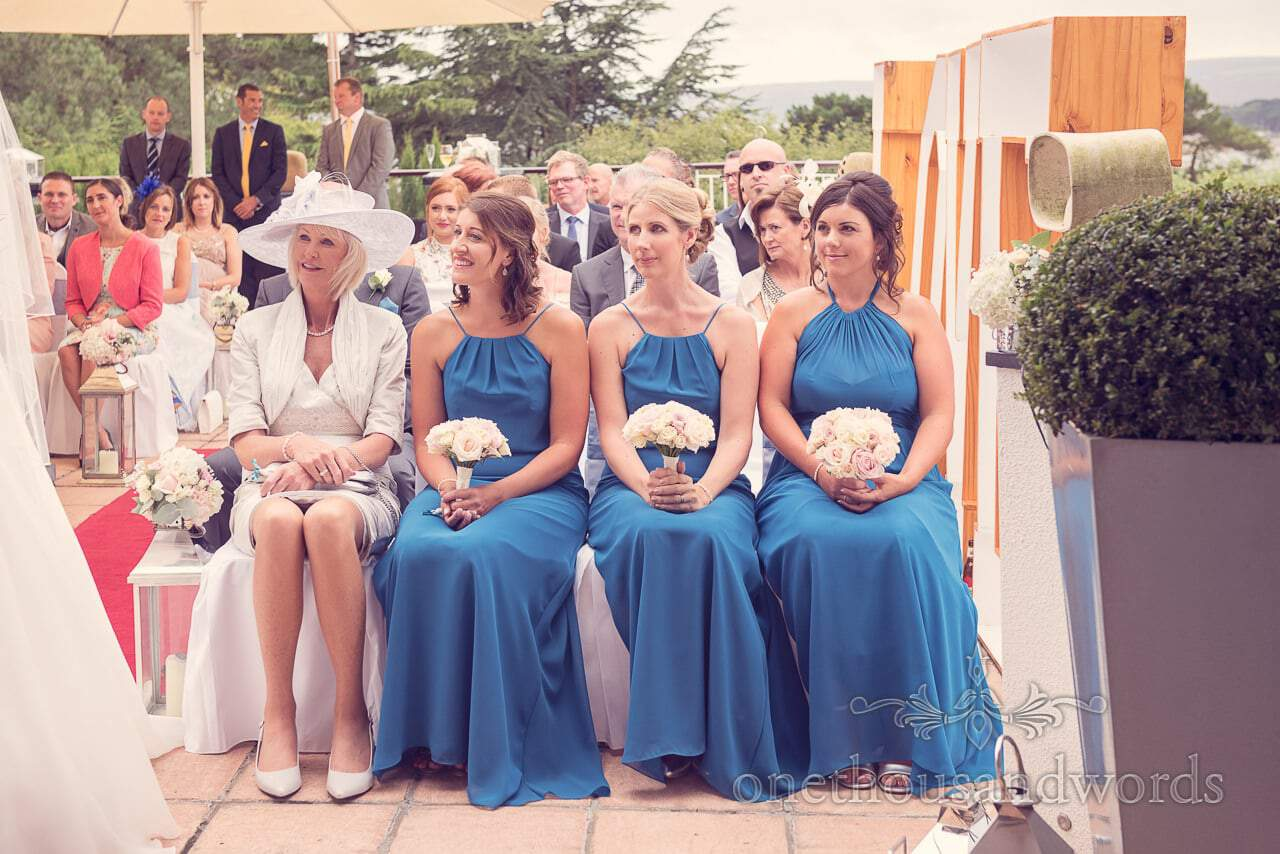 Bridesmaids and mother of the bride at Harbour Heights wedding