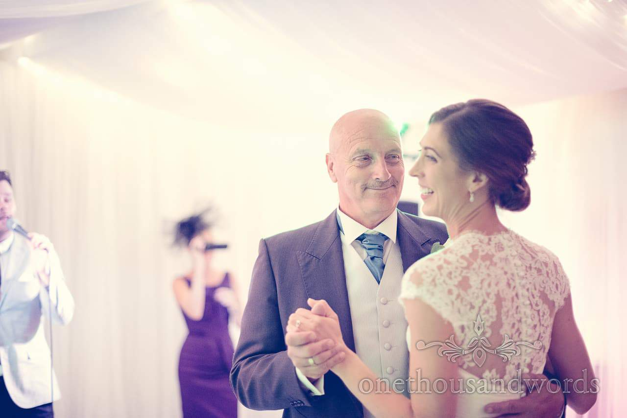Father of the Bride dance at harbour heights wedding photographs
