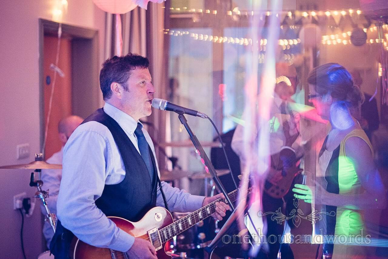 Frankie Rudd wedding musician plays at Harmans Cross Village Hall Wedding