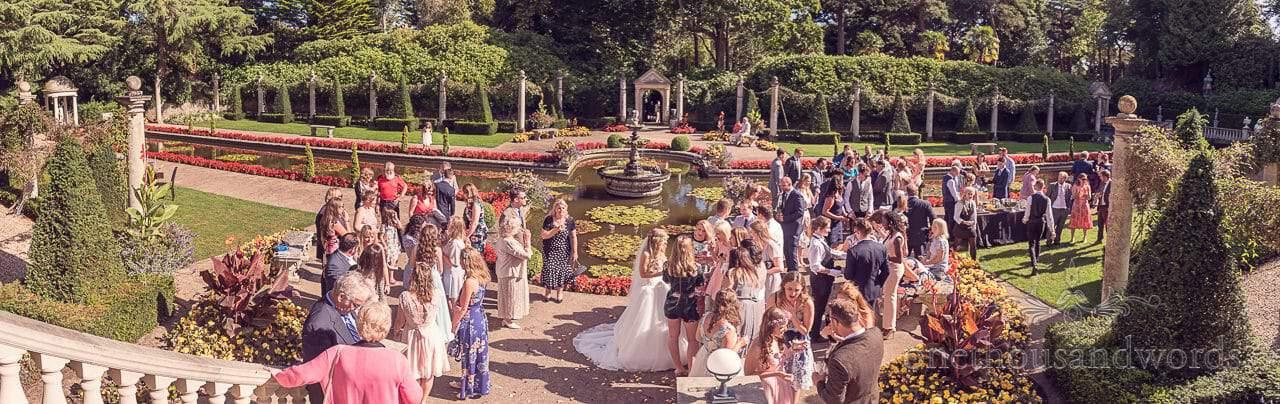 Italian Villa Wedding Venue Italian Gardens Wedding Reception
