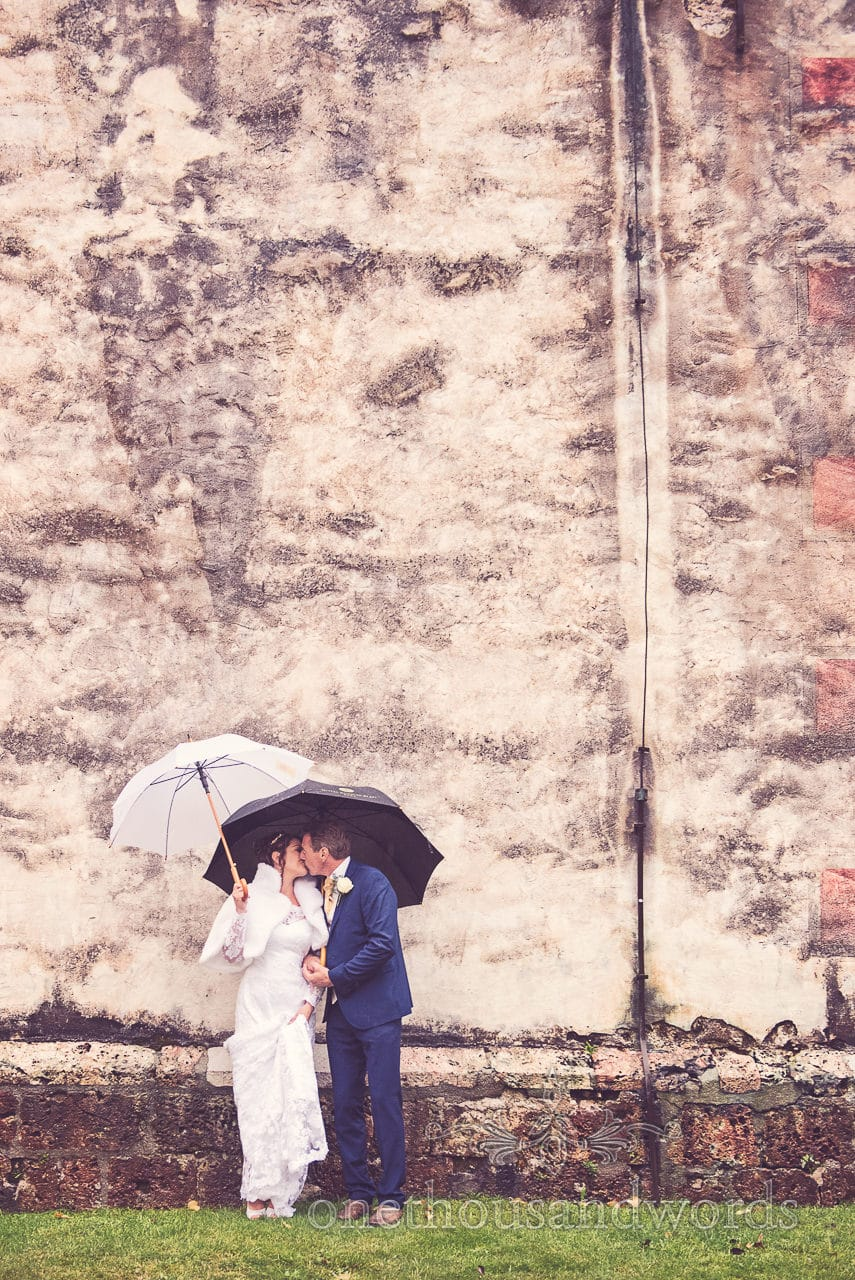 Destination Wedding Photographers capture bride and groom at Lake Bled Church