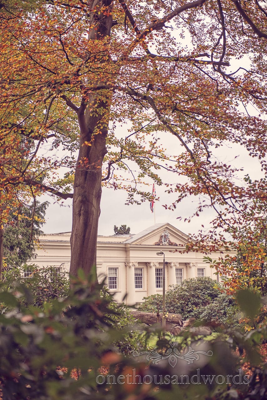 Northcote House wedding venue at Sunningdale Park in Berkshire