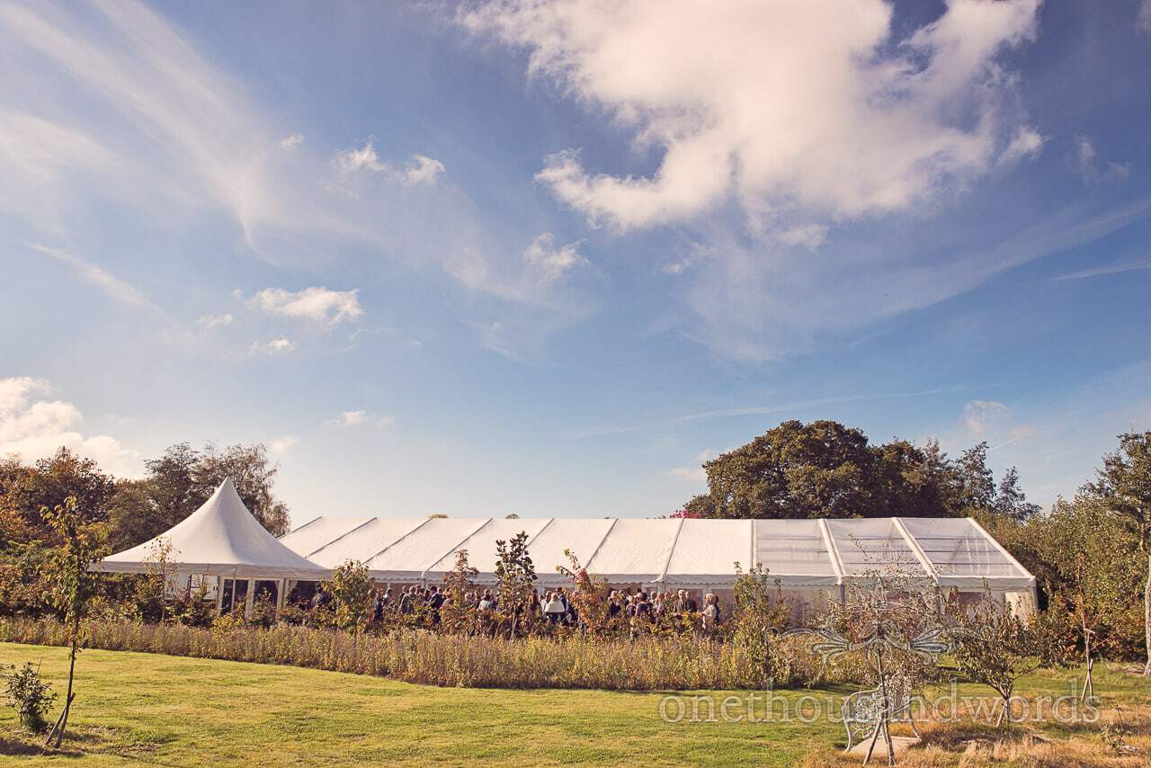 Holme for Gardens wedding in Dorset with Lindsey and Hamish