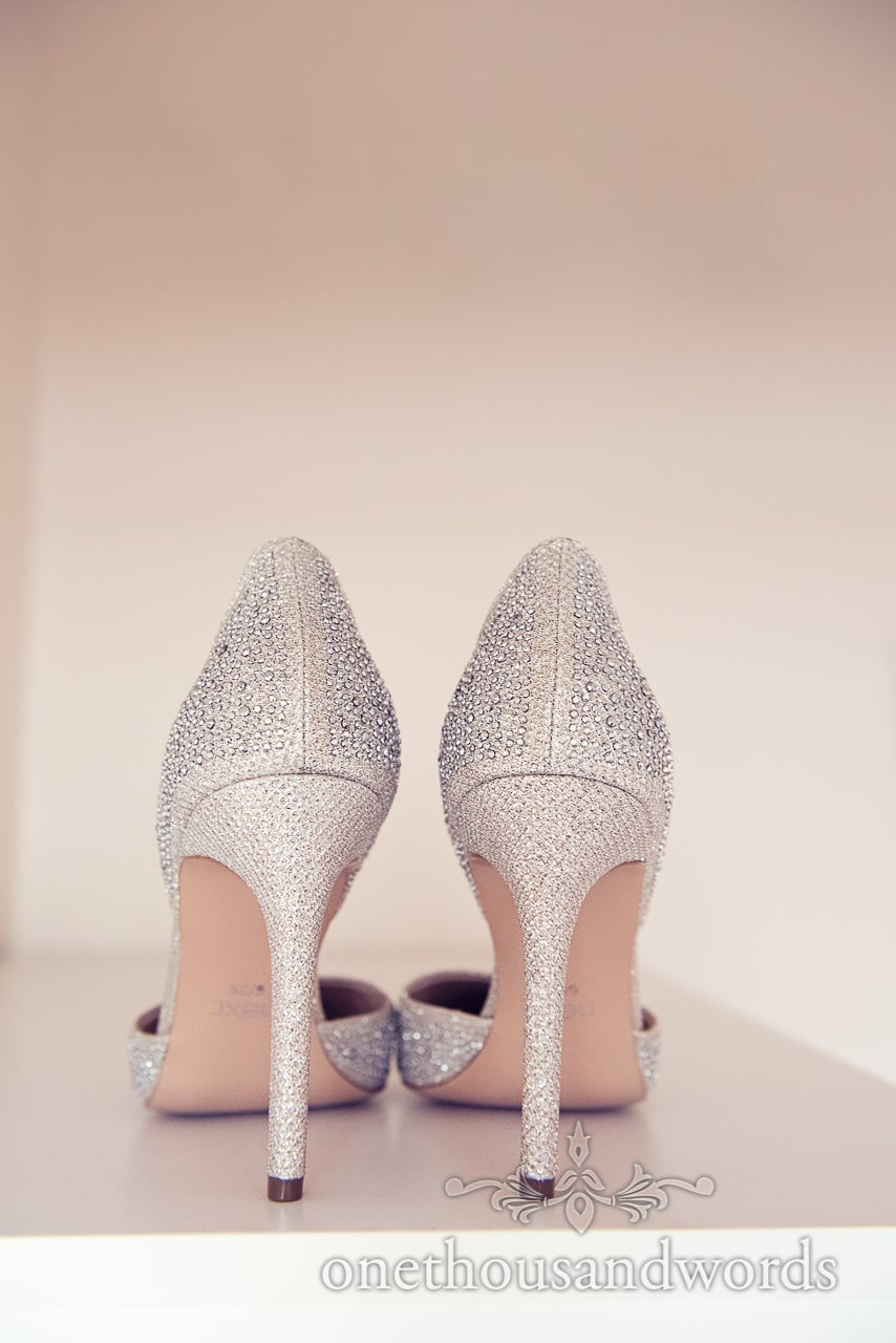 Wedding shoes from Holme for Gardens wedding