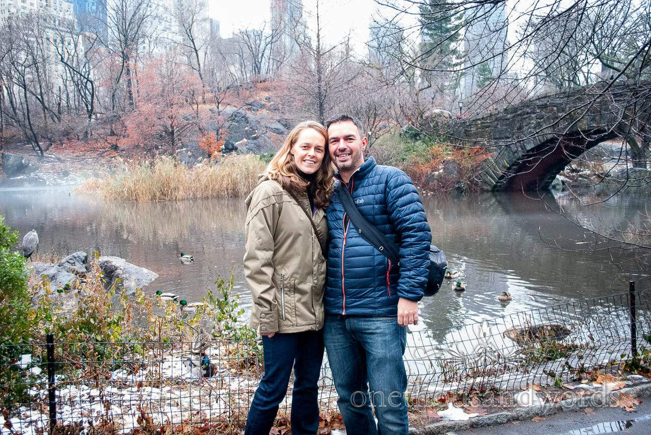 Before we got engaged in Central Park - New York City marriage proposal Photographs Photography