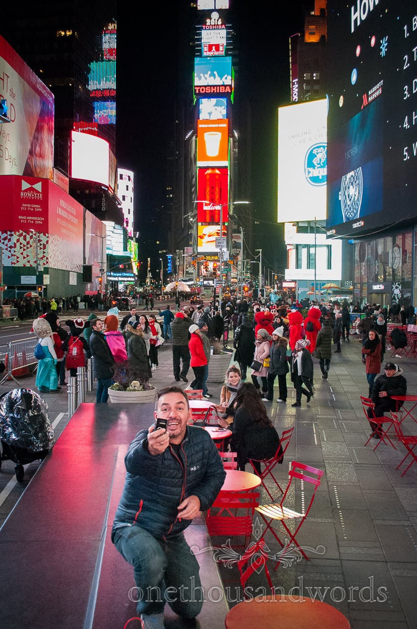 Will you marry me? - New York City marriage proposal Photographs