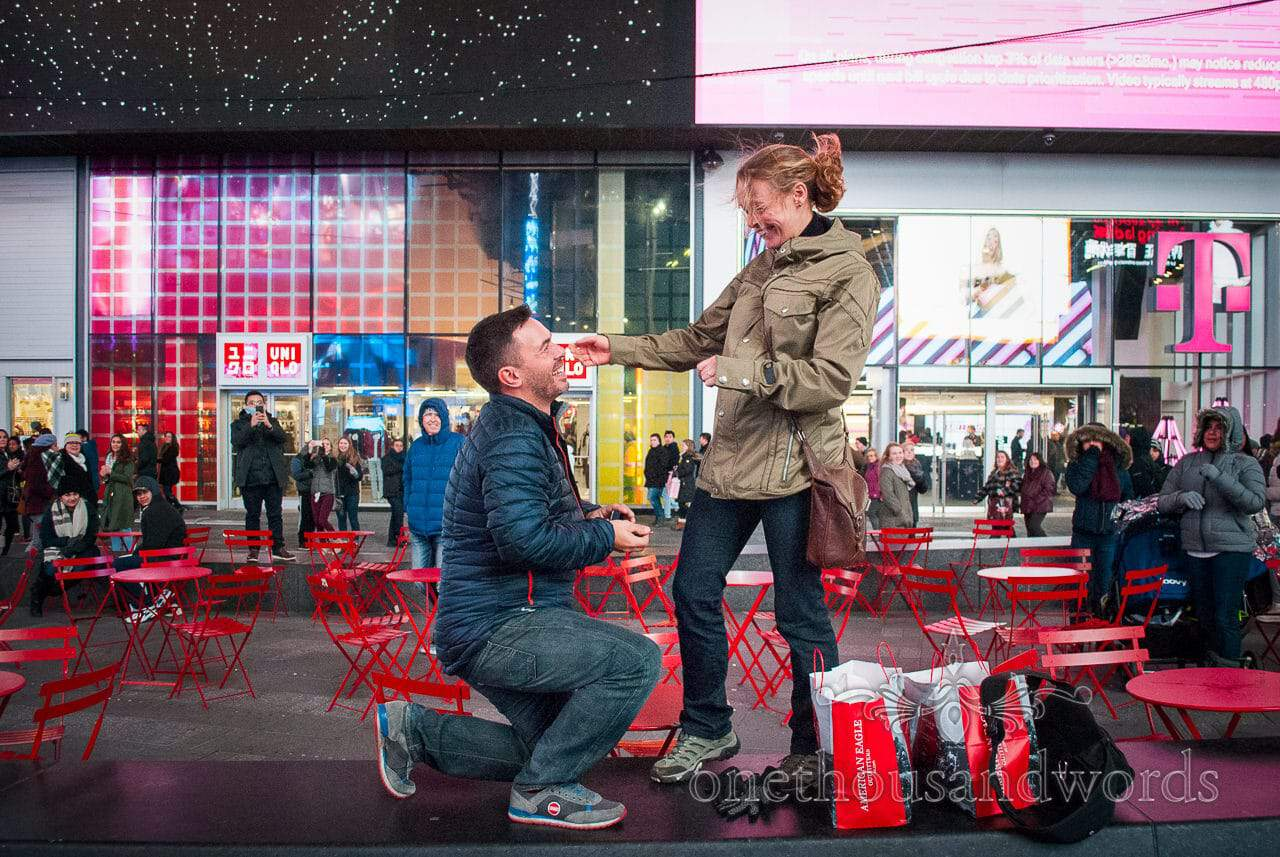 Will you? - New York City marriage proposal Photographs