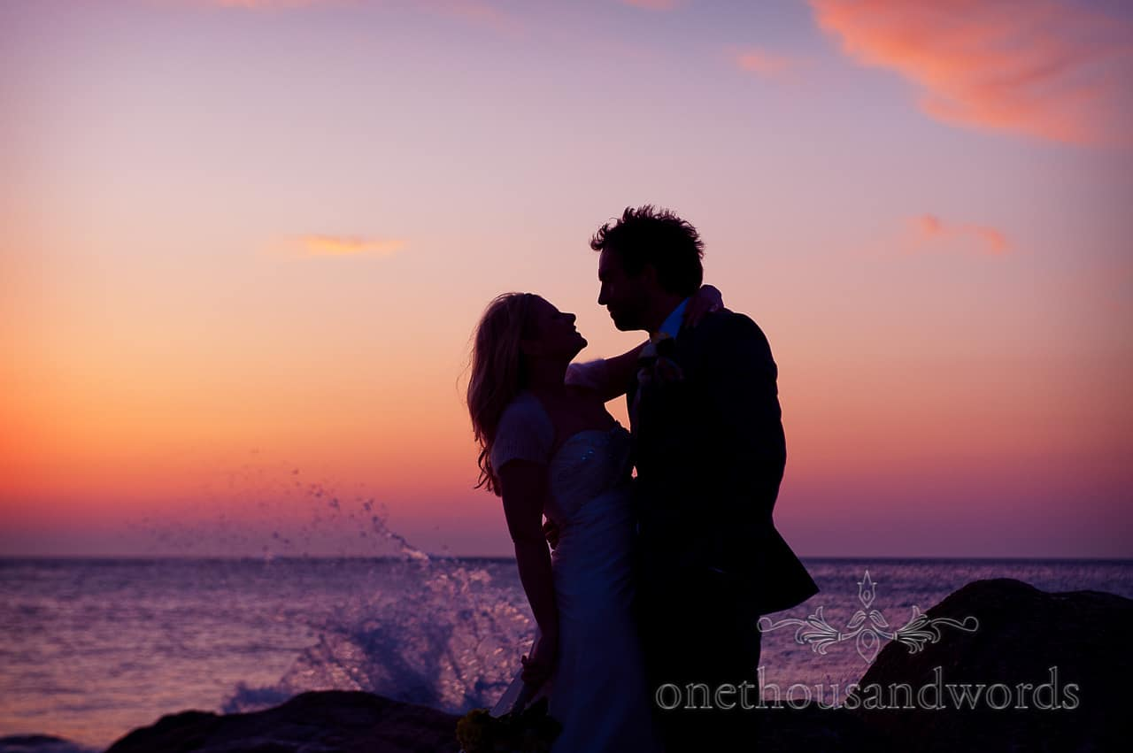 Porth en Alls wedding at Prussia Cove with Jon and Shirley