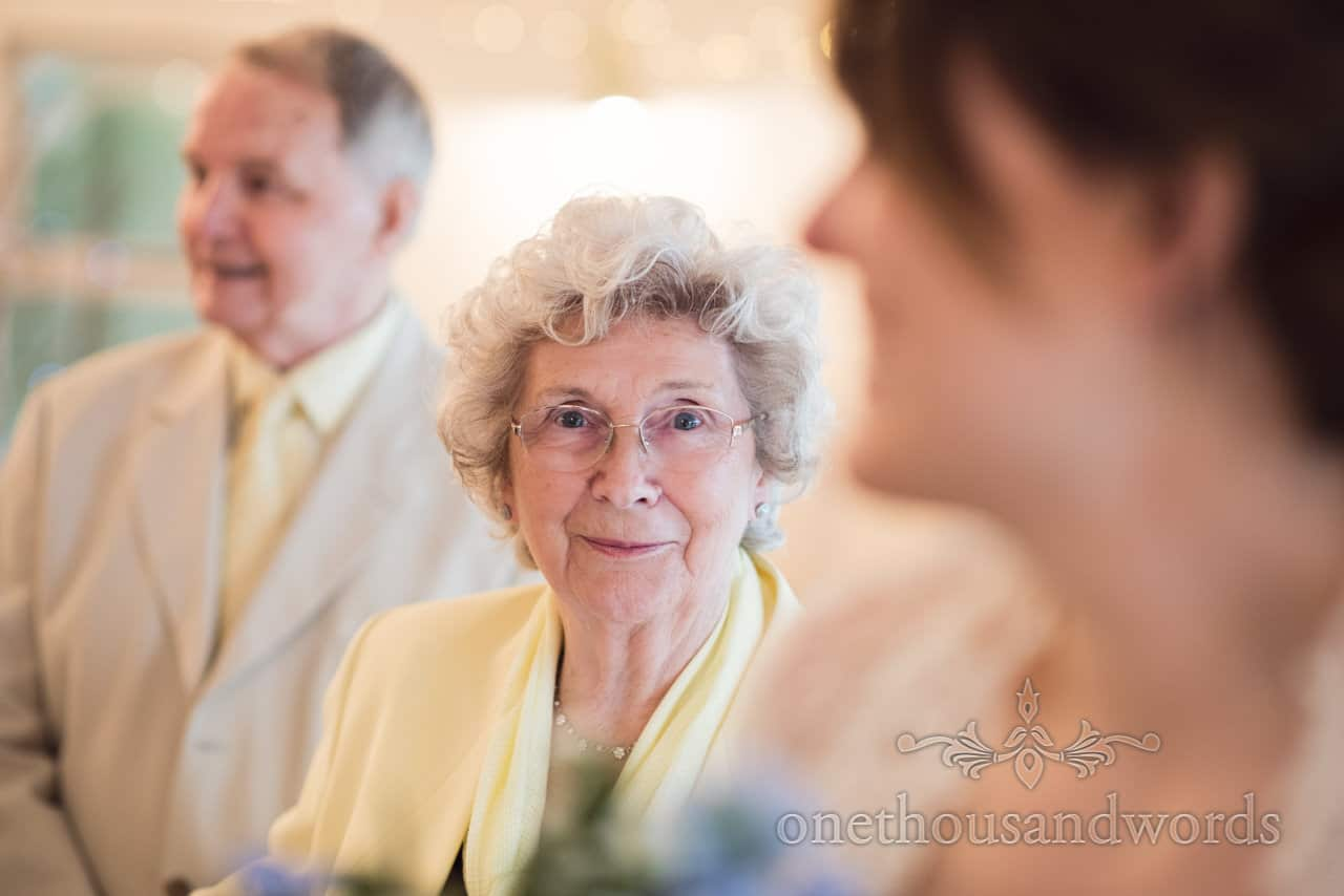 Grandmother portrait photograph at Kings Pavillion wedding
