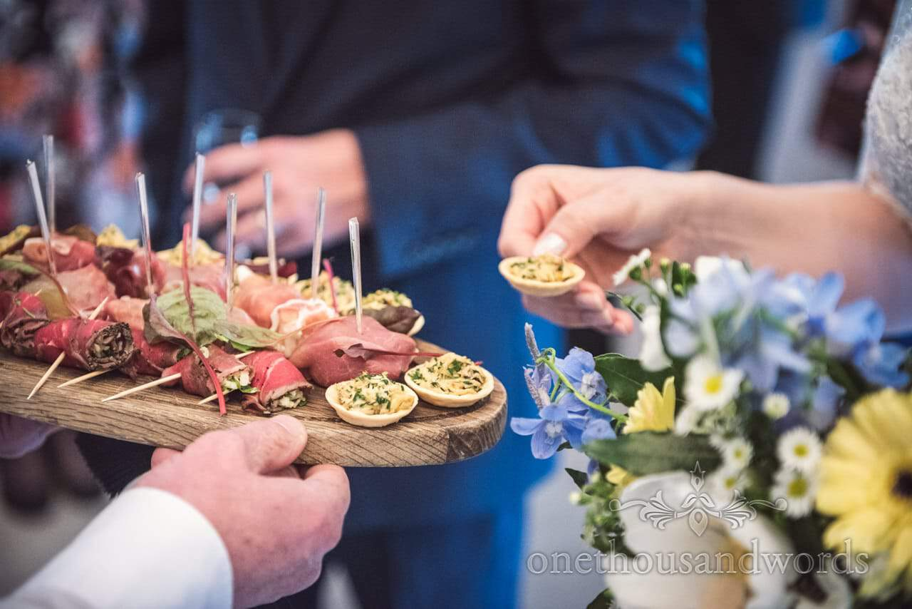 Kings Arms Hotel Christchurch wedding catering drinks reception canapés