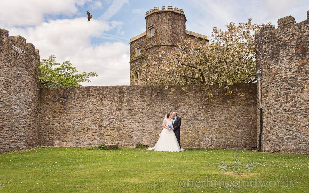 Walton Castle Wedding Photographs with Louise and Dan