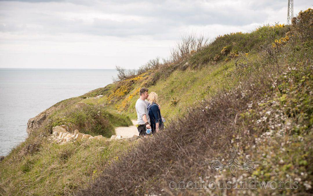 Durlston Country Park Engagement Photos with Zoya & JP