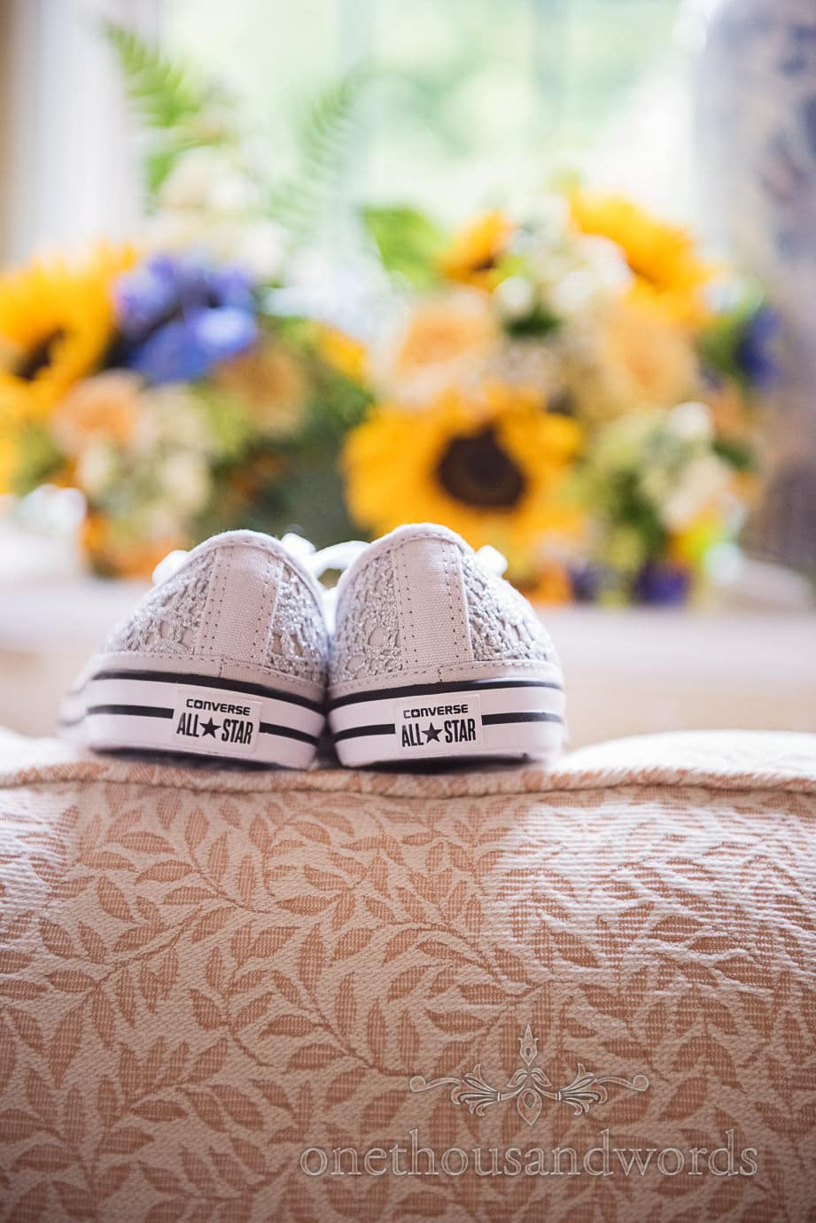 amazing silver wedding converse all stars trainers with silver lace detailing